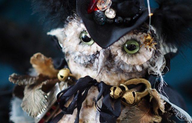 美術の窓2018年6月号にUncreerの「Owl」が掲載されました!